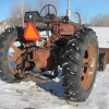 M Farmall Tractor with Paulson Loader