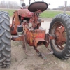 M Famall Tractor with Paulson Loader