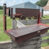 K&M Tractor Step Toolbox