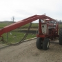 International 706 Tractor with Boom Loader